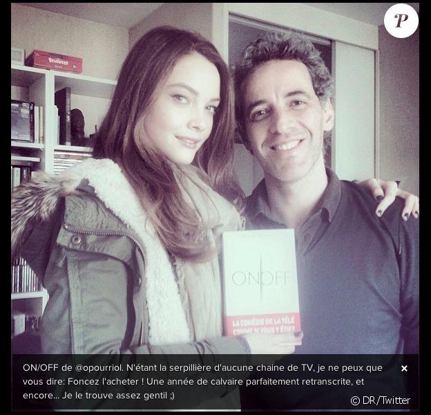 Solweig Rediger Lizlow publie cette photo pour soutenir son ami Ollivier Pourriol