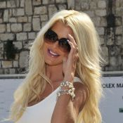 Victoria Silvstedt : Spectatrice chic et toujours sexy du tournoi de Monte-Carlo