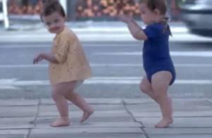 Evian Baby & Me : Les bébés alter ego se dandinent sur Here Comes the Hotstepper