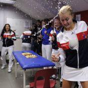 Fed Cup : Amélie Mauresmo entraîne Marion Bartoli et les filles vers les sommets