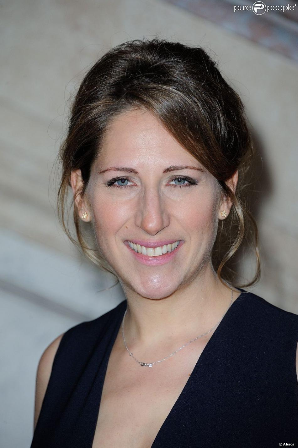 Maud Fontenoy lors du gala annuel donné en l'honneur de sa fondation Maud Fontenoy à l'hôtel de la Marine à Paris le 9 avril 2013