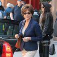 Jacqueline Bisset sur le tournage du film inspiré de l'affaire DSK à New York le 25 avril 2013