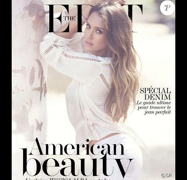 Jessica Alba fait la couverture du magazine Edit de Net-à-porter