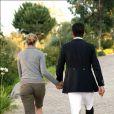 Athina Onassis de Miranda et son mari : jamais l'un sans l'autre