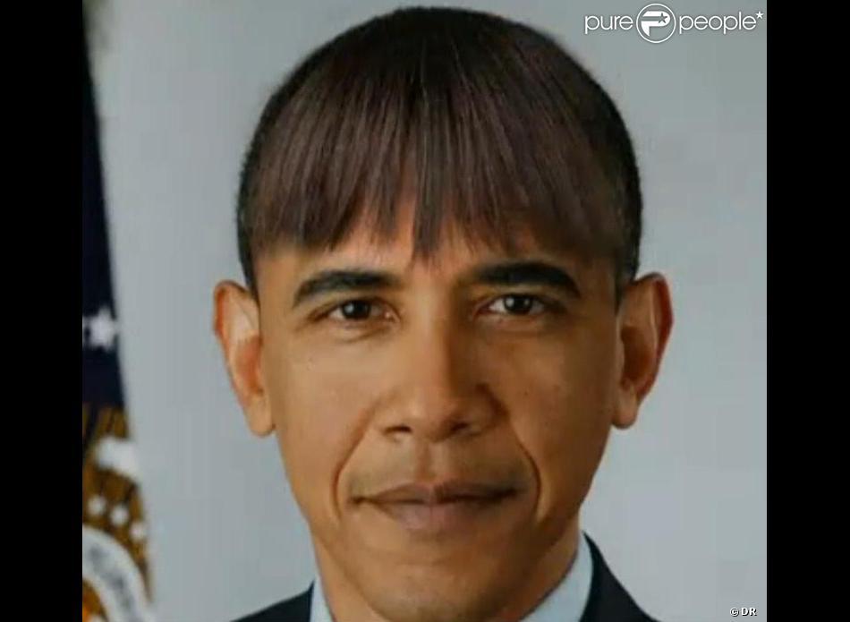 Barack obama a affich une nouvelle coiffure lors du d ner for Au coeur de la maison blanche barack obama