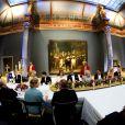 Dîner d'adieu de la reine Beatrix des Pays-Bas au Rijksmuseum d'Amsterdam le 29 avril 2013, à la veille de son abdication.
