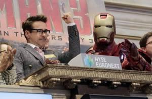 Robert Downey Jr. et Iron Man : Les rois de Wall Street savourent leur triomphe