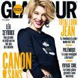 Léa Seydoux en couverture de Glamour pour le mois de juin.