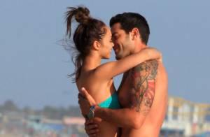 Jesse Metcalfe : Très sexy en maillot de bain pour sa fiancée Cara Santana