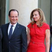 Valérie Trierweiler, élégante et glamour, mène le bal des dames au dîner d'Etat