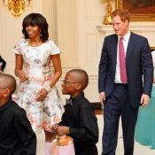 Prince Harry aux Etats-Unis : Michelle Obama ravie, la gent féminine hystérique