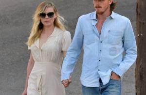Kristen Dunst : Superbe et amoureuse, main dans la main avec Garrett Hedlund