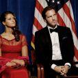 Madeleine de Suède et son fiancé au dîner de gala pour le 375e anniversaire de la fondation de la Nouvelle-Suède à Wilmington le 11 mai 2013.