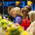 Madeleine de Suède pendant le dîner de gala pour le 375e anniversaire de la fondation de la Nouvelle-Suède à Wilmington le 11 mai 2013.