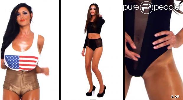 Nabilla dans le clip Girlz de Make the Girl Dance