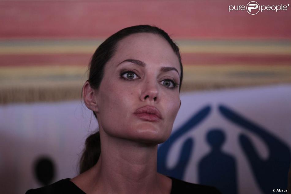 Angelina Jolie le 11 septembre 2012.