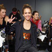 Jessica Alba : Efforts et endurance pour une journée sportive
