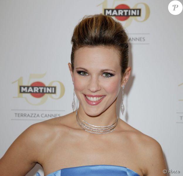 Lorie à la soirée d'ouverture du Terrazza Martini lors du 66e Festival de Cannes. Le 15 mai 2013.