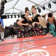 Soirée d'ouverture du Terrazza Martini lors du 66e Festival de Cannes. Le 15 mai 2013.