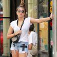 """""""Lourdes Leon lookée dans les rues de New York en septembre 2012"""""""