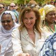 Valérie Trierweiler en visite humanitaire à Gao au Mali, le 16 mai 2013.