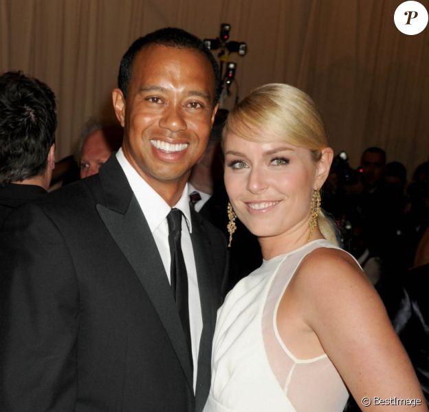 Tiger Woods et Lindsey Vonn lors du Met Gala de New York le 6 mai 2013