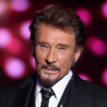 Johnny Hallyday en décembre 2012 à Paris