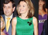 PHOTOS : La princesse Letizia d'Espagne, le vert est vraiment sa couleur !