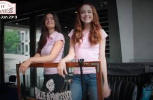 Solweig Rediger-Lizlow et Lara Micheli : Deux princesses en roue libre