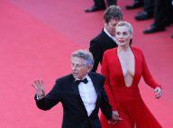 Cannes 2013 : Emmanuelle Seigner, ultradécolletée, et Roman Polanski controversé