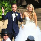 Aaron Paul : Toutes les photos du mariage de la star de Breaking Bad