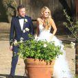 Exclusif - Mariage d'Aaron Paul et Lauren Parsekian au Cottage Pavilion à Malibu, le 26 mai 2013.