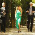 Exclusif - Invités au mariage de l'acteur Aaron Paul et Lauren Parsekian au Cottage Pavilion à Malibu, le 26 mai 2013.