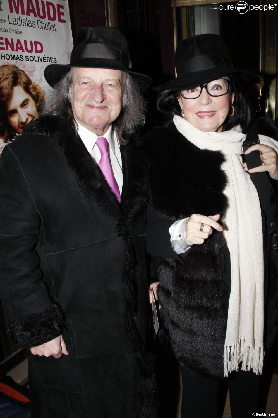 Nana Mouskouri with handsome, Husband André Chapelle