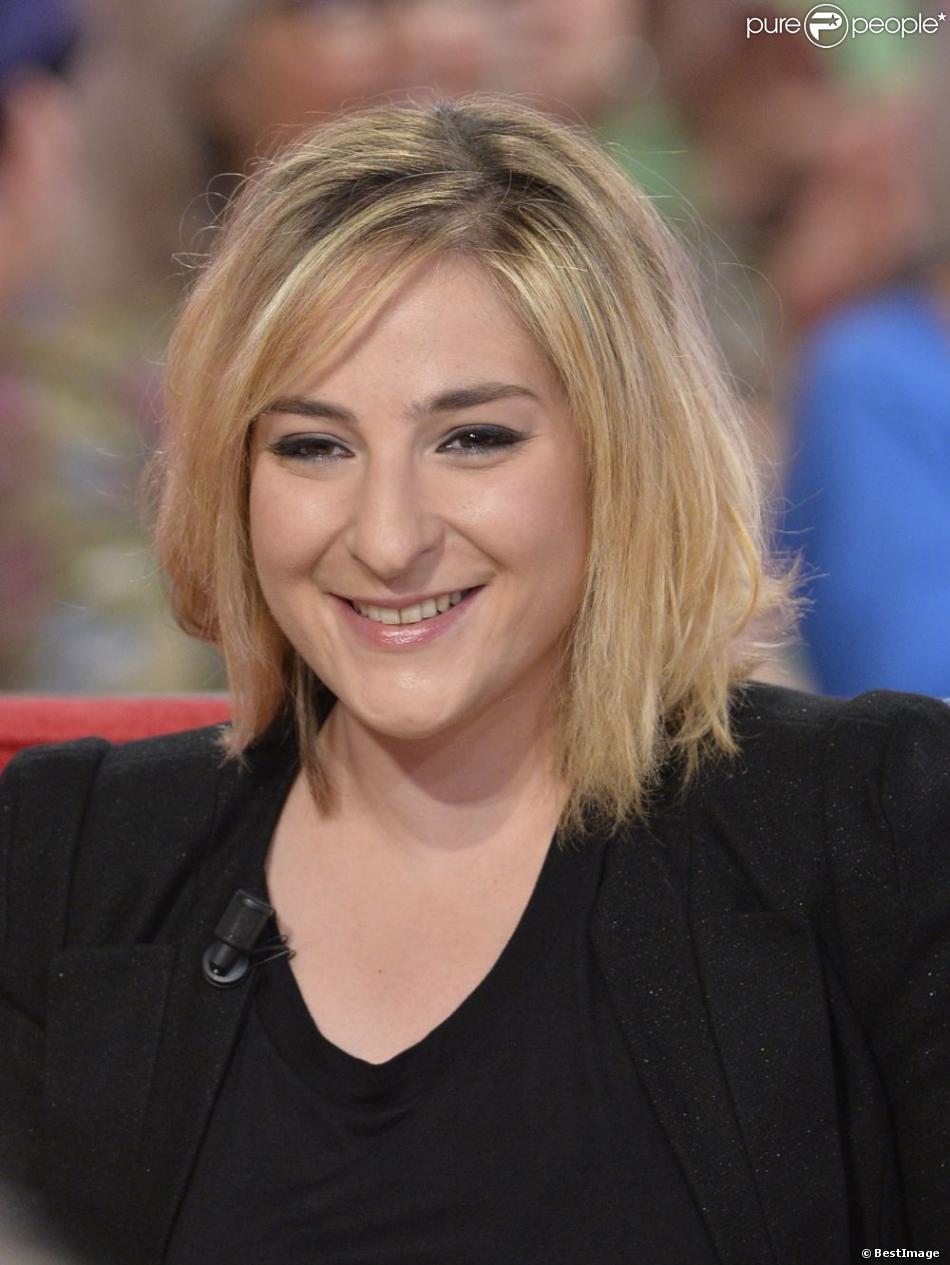 Marilou Berry lors de l'enregistrement de l'émission de France 2 Vivement dimanche à Paris le 29 mai 2013