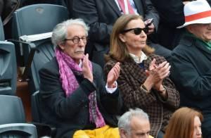 Roland-Garros : Jean Rochefort et son épouse, le couple passe entre les gouttes