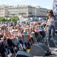 TAL au Miroir d'Eau lors du concert NRJ Music, comptant pour le NRJ Music Tour. Bordeaux, le 2 juin 2013.
