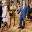 Zara Phillips et Mike Tindall - 60eme anniversaire du couronnement de la reine Elisabeth II d'Angleterre en l'abbaye de Westminster a Londres le 4 juin 2013.  Queen Elizabeth II along with members of the Royal family attend service at Westminster Abbey to celebrate the 60th anniversary of the Coronation of the Queen at Westminster Abbey, London.04/06/2013 - Londres