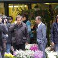 Exclusif - Les Inconnus Didier Bourdon, Bernard Campan et Pascal Légitimus sur le tournage des Trois frères, le retour (titre provisoire) à Paris le 30 mai 2013