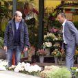 Exclusif - Les Inconnus Bernard Campan et Pascal Légitimus sur le tournage des Trois frères,le retour (titre provisoire) à Paris le 30 mai 2013