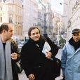 Les Inconnus Bernard Campan, Didier Bourdon et Pascal Légitimus en 2001