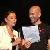Zinédine Zidane, Gad Elmaleh et Sandrine Quétier réunis pour des enfants engagés