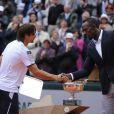 David Ferrer s'est incliné en finale de Roland-Garros face à Rafael Nadal (6-3, 6-2, 6-3) le 9 juin 2013