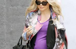 Fergie : Radieuse et ultrastylée, même enceinte elle ne s'arrête jamais !