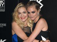 Rita Ora et Cara Delevingne, rebelle : Un duo fougueux et complice en soirée