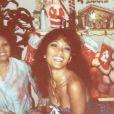 Bruno Mars a publié le 8 juin 2013 une photo de sa mère Bernadette, morte samedi 1er juin 2013 d'une rupture d'anévrisme.
