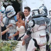 Matt Lanter (90210) et sa sexy Angela : Un mariage sous le signe de Star Wars