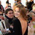 Natalia Vodianova lors de la soirée de clôture du festival du film romantique de Cabourg, le 15 juin 2013