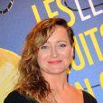 """Julie Ferrier à la soirée """"Les Nuits en Or 2013, Le Panorama"""" organisée dans les locaux de l'UNESCO à Paris, le 17 juin 2013."""