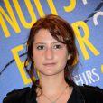 """L'actrice française Lola Créton à la soirée """"Les Nuits en Or 2013, Le Panorama"""" organisée dans les locaux de l'UNESCO à Paris, le 17 juin 2013."""